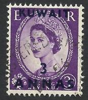 Kuwait, 3 A. On 3 P. 1954, Sc # 107, Mi # 99, Used - Kuwait