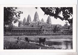CAMBODGE ANGKOR WATH VUE GENERALE AUTENTICA 100% - Cambodia