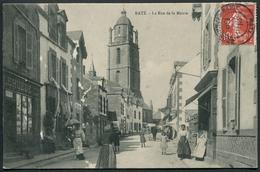 Batz - La Rue De La Mairie - Voir 2 Scans - Batz-sur-Mer (Bourg De B.)