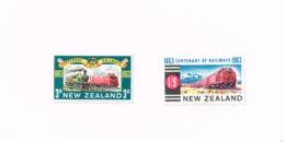 Trains.Railway. Yvert 417/8 MH,Neuf Charnière,Mit Falz - New Zealand