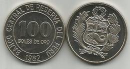 Peru 100 Soles De Oro 1982. High Grade - Pérou