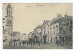Lokeren - La Grand'Place  1857 = Héliotypie De Graeve,Gand 1910 - Lokeren
