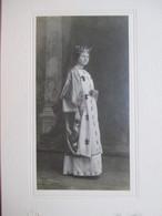 Bordighera - Photographie Ancienne D' Ezio BENIGNI - Personnage Féminin En Reine De France - ( Théâtre ? ) - TTBE - Old (before 1900)