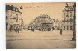 12  Laeken - Place Communale - Laeken