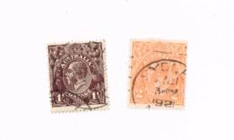 Effigie Royale. Yvert 23,25 - 1913-36 George V: Heads