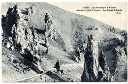 Tarjeta Postal De Briancon A Abries. Route Du Col D'izoard. - Briancon