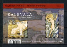 FINLANDE 2004 Bloc N° 33 ** Neuf MNH Superbe C 6 € Norden Dieux La Mythologie Nordique Kallela Tableaux Paintings - Finlandia
