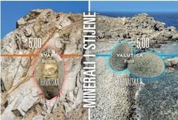 HR 2018-1342-3 MINERALS HRVATSKA CROATIA, S/S, MNH - Mineralien