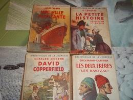 4 Livres Bibliothèque De La Jeunesse Avec Jaquette - Bücher, Zeitschriften, Comics