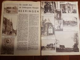 Beringen Beeringen Op Wandel Door De Limburgsche Kempen  :2 Blz Uit Oud Tijdschrift: Ons Land 1935 - Beringen
