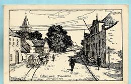 GELUWE - Feldpostkarte - Wervik