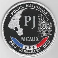 Écusson Police Judiciaire Meaux (77) - Police & Gendarmerie