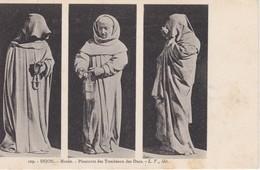 Musée De DIJON Lot  22 CPA Statuettes De Pleurant Décorant Le Tombeau De Jean Sans Peur J. De La Huerta Et Le Moiturier - Dijon