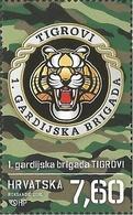 "HR 2018-1344 HV""TIGROVI"", CROATIA HRVATSKA, 1 X 1v, MNH - Militaria"