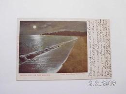 Santa Barbara. - Moonlight On The Pacific. - Big Sur