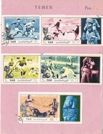 31534. Lote Filatelico YEMEN 1970. Theme FUTBOL, Mundial Footbal MEXICO 70 - Yemen