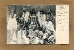 CPA - GUINE-BISSAU-PORTUGUEZA - GEBA - Aspect Du Roi Selou Et De Ses Femmes En 1907 - Guinea-Bissau