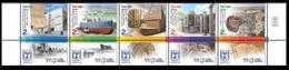 2014Israel2394-2398Israel's National Heritage Landmarks - Gebraucht (mit Tabs)