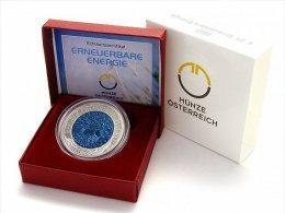 Autriche 2010 : 25€ En Argent Et Niobium - Disponible En France - Oesterreich