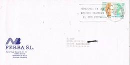 31538. Carta ANDORRA La Vella (Andorra) 1994. Medicina, Penicilina Sr. FLEMING - Andorre Espagnol