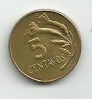 Peru 5 Centavos  1973. - Pérou