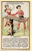 Chromo Aux Deux Passages à Lyon. Les Instruments De Musique : Le Tubophone. - Other