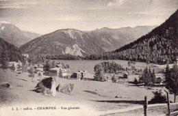 CHAMPEX  -Vue Générale - VS Valais