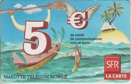 MAYOTTE - TÉLÉCARTE - GSM DU MONDE *** RECHARGE GSM - SFR5 - 06/10 *** - TAAF - Terres Australes Antarctiques Françaises