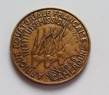 CAMEROUN 10 Francs 1958 (B7 - 38) - Cameroon