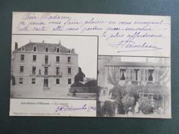 """CPA 85 DOUBLE VUES LES SABLES D'OLONNE """"LES ALGUES"""" ETABLISSEMENT HOTEL - Sables D'Olonne"""