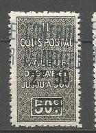 ALGERIE COLIS POSTAUX N° 19 NEUF** SANS CHARNIERE  / MNH - Algérie (1924-1962)