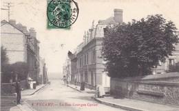 Seine-Maritime - Fécamp - La Rue Georges Cuvier - Fécamp