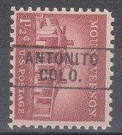 USA Precancel Vorausentwertung Preo, Locals Colorado, Antonito 745 - Vereinigte Staaten