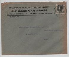PR6322/ TP 401 Léopold III S/L.Entête Alphonse Van Haver Hamme S/Durme C.Hamme (VL) 1935 V.Gent - Belgium