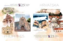 HR 2018-1353-4 JOINT ISSUES HR-FILIPINI HRVATSKA CROATIA, S/S, MNH - Philippinen