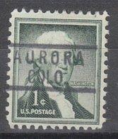 USA Precancel Vorausentwertung Preo, Locals Colorado, Aurora 818 - Vereinigte Staaten