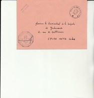 L 3 -  Enveloppe Gendarmerie Prévôtale De Karlsruhe Avec Cachet Poste Aux Armées (FFA) - Marcophilie (Lettres)
