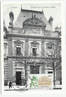 Carte Maximum PARIS Ministère De La Guerre - André Maginot - Cartoline Maximum