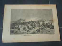 BEAUNE-LA-ROLANDE Extrait De L'Histoire Populaire De La Guerre 1870/71 Tableau De BEAUQUESNE - Militaria