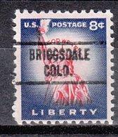 USA Precancel Vorausentwertung Preo, Locals Colorado, Briggsdale 734 - Vereinigte Staaten