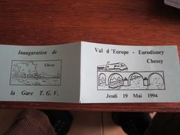 C  334  EURODISNEY               CHESSY - Autres