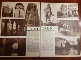 Tongeren / Floralies Park Rumbeke :2 Blz Uit Oud Tijdschrift: Ons Land 1935 - Tongeren