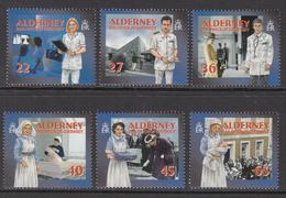 2004 Alderney Community Health Services Nurses Hospital Complete Set Of  6 MNH At BELOW Face Valur - Autres