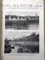 Album Illustrazione Popolare 5 Gennaio 1911 Luzzatti Premio Nobel Corpus Domini - Livres, BD, Revues