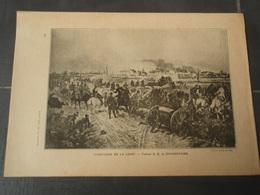 Campagne De La Loire Extrait De L'Histoire Populaire De La Guerre 1870/71 Tableau De Q. BEAUREPAIRE - Militaria