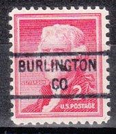 USA Precancel Vorausentwertung Preo, Locals Colorado, Burlington 841 - United States