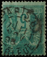 Sage N°75 Type Il O.(CAD) PARIS Rue Bleue 11 Nov 1895.( Bur 83 ) - 1876-1898 Sage (Type II)