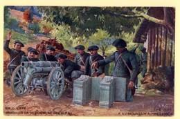 Carte Postale Canon De 65 De Montagne Des Chasseurs Alpins. - Regiments