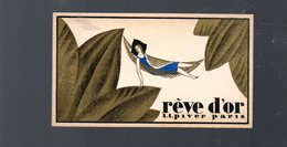 Agen (47 Lot E Garonne) Carte Parfumée   REVE D'OR Offerte Par CAPUL ET DESCOMPS (PPP17093) - Perfume Cards