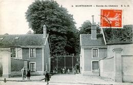 91. ESSONNE - MONTGERON. Entrée Du Château - Montgeron